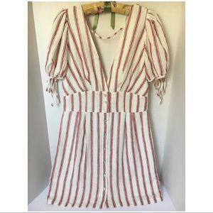 Forever21 Linen Summer Dress